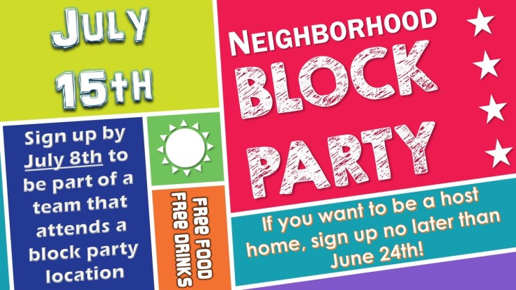 sign up for block party