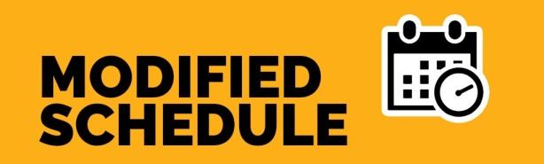modified schedule